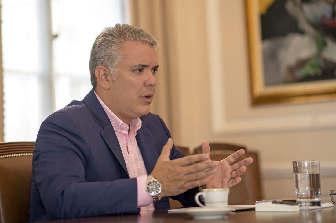 """Iván Duque: """"Sí vamos a hacer la reforma pensional"""""""