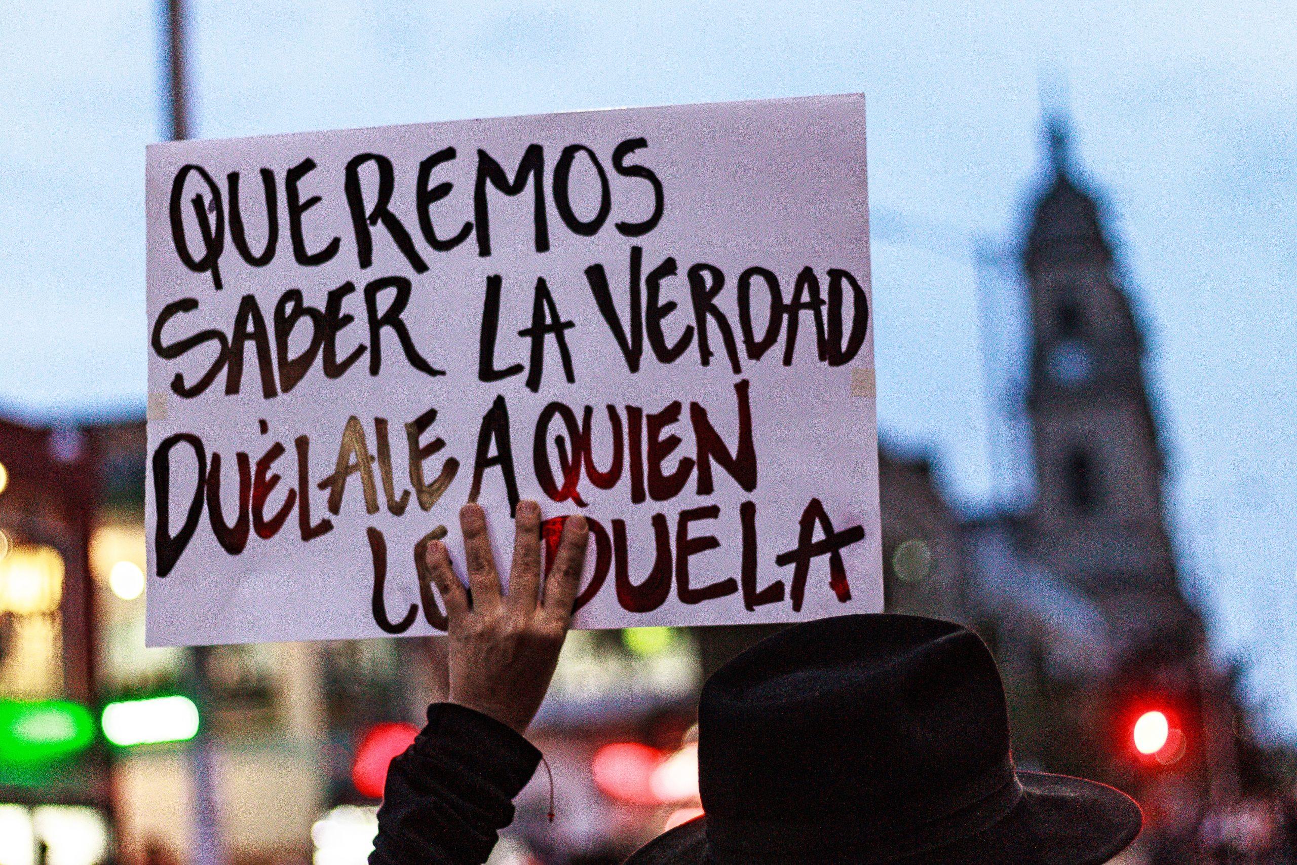 paz sin justicia no es paz