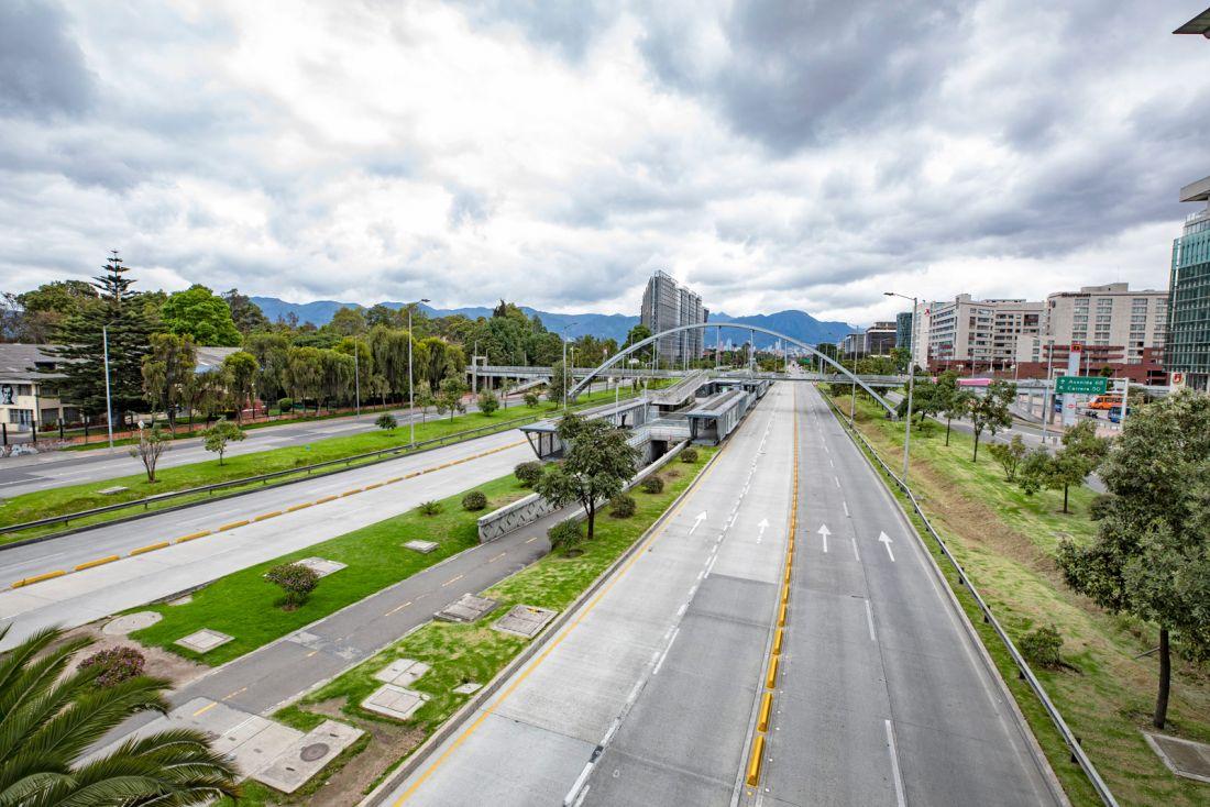 La Bogotá en silencio