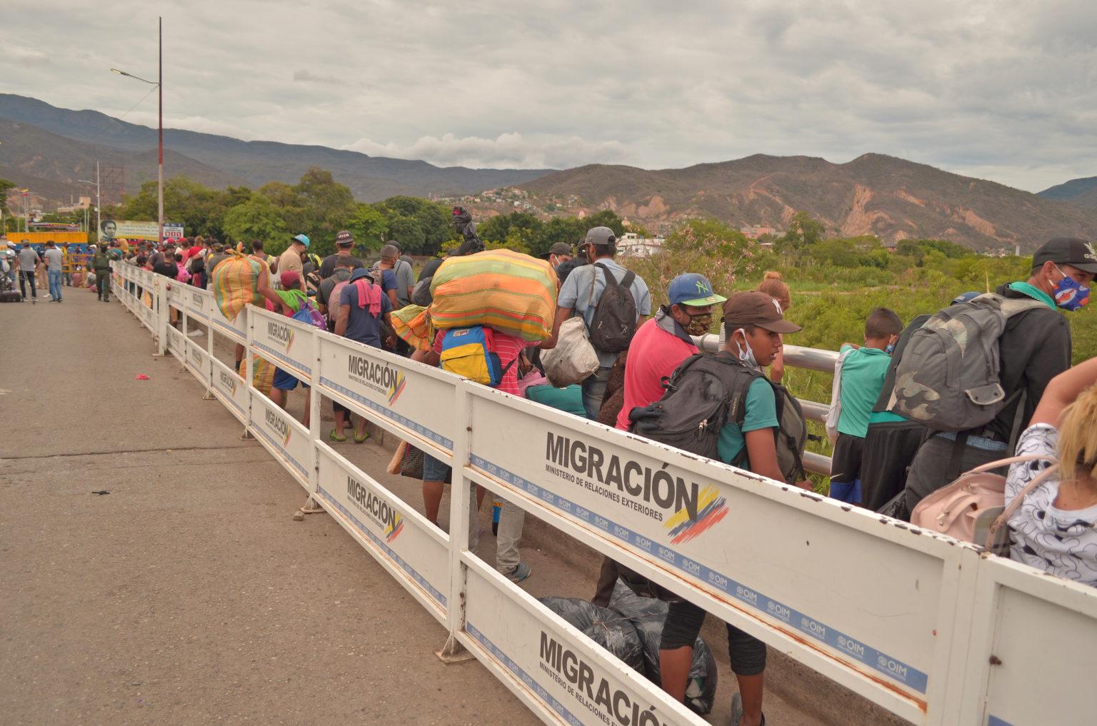 Pasando la frontera