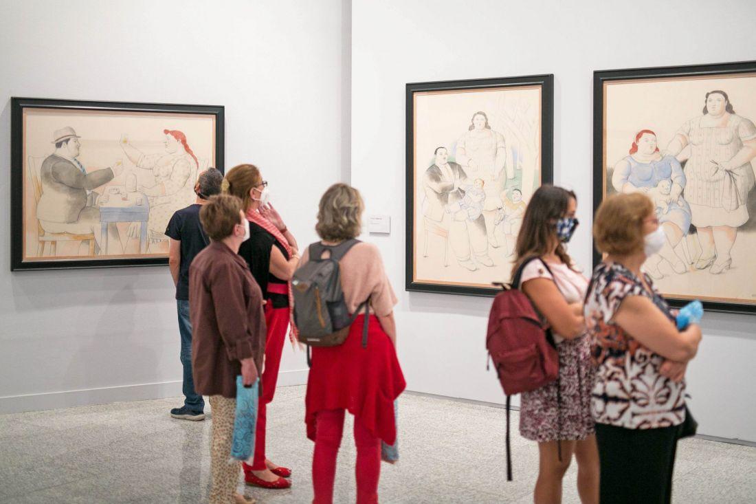 Botero, 60 años de pintura. La mayor muestra dedicada al artista colombiano en España