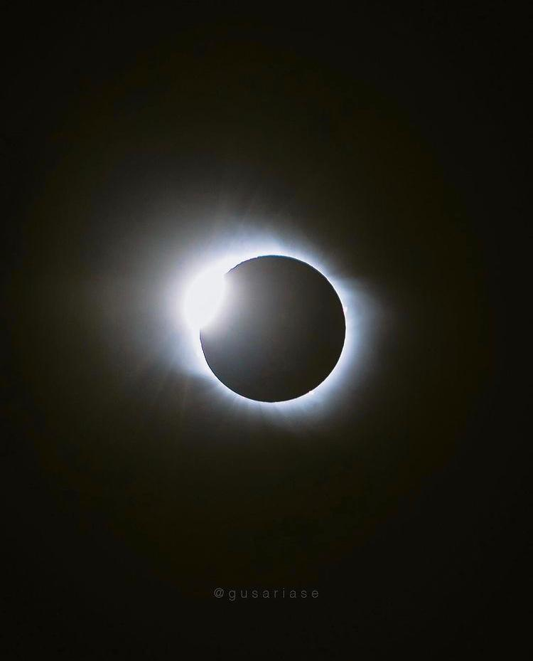 Así fue el eclipse solar total del 14 de diciembre