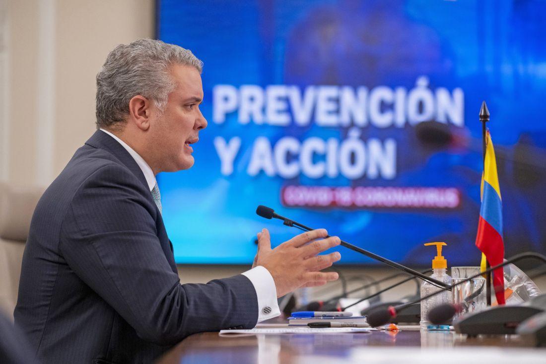 Colombia extiende aislamiento selectivo y emergencia sanitaria hasta febrero