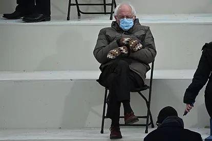 El meme de Bernie Sanders con guantes de lana recauda casi 2 millones de dólares para fines benéficos