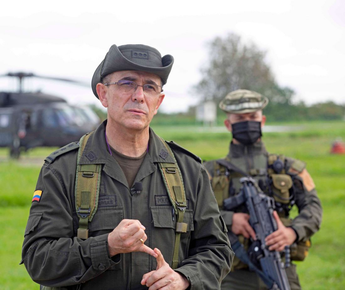 General Jorge Vargas, director de la Policía: «Tenemos alianzas de colaboración muy importantes con los Estados Unidos»