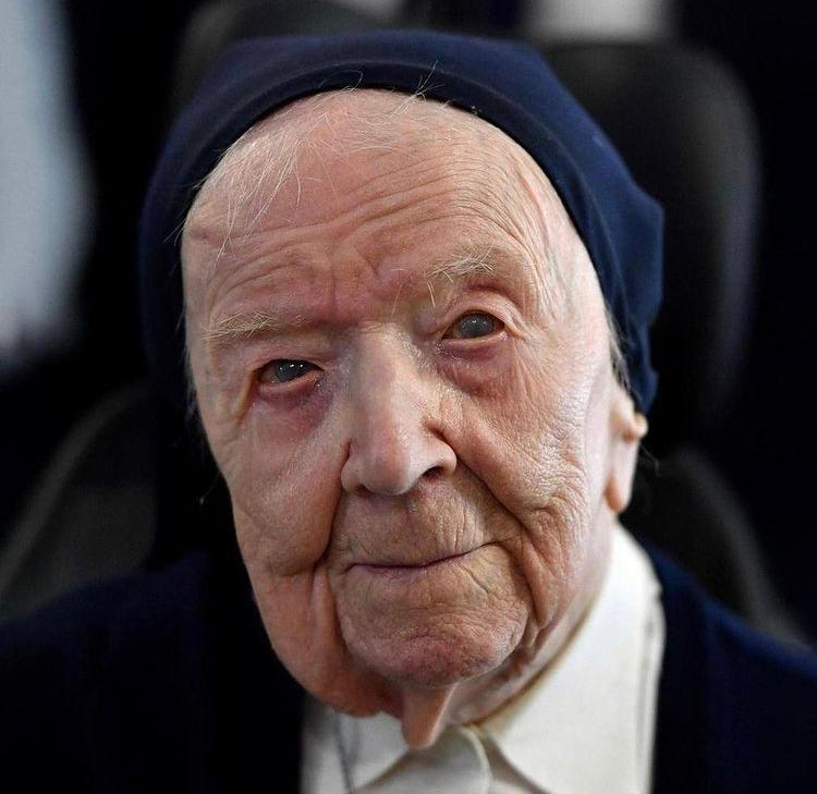La mujer más longeva de Europa supera el Covid-19 con casi 117 años