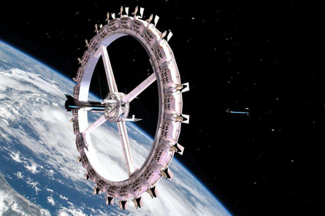 Así será el primer hotel espacial que sería inaugurado en 2027