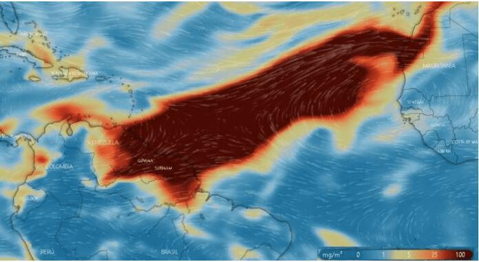 Presencia de dióxido de azufre afectará calidad del aire en Colombia