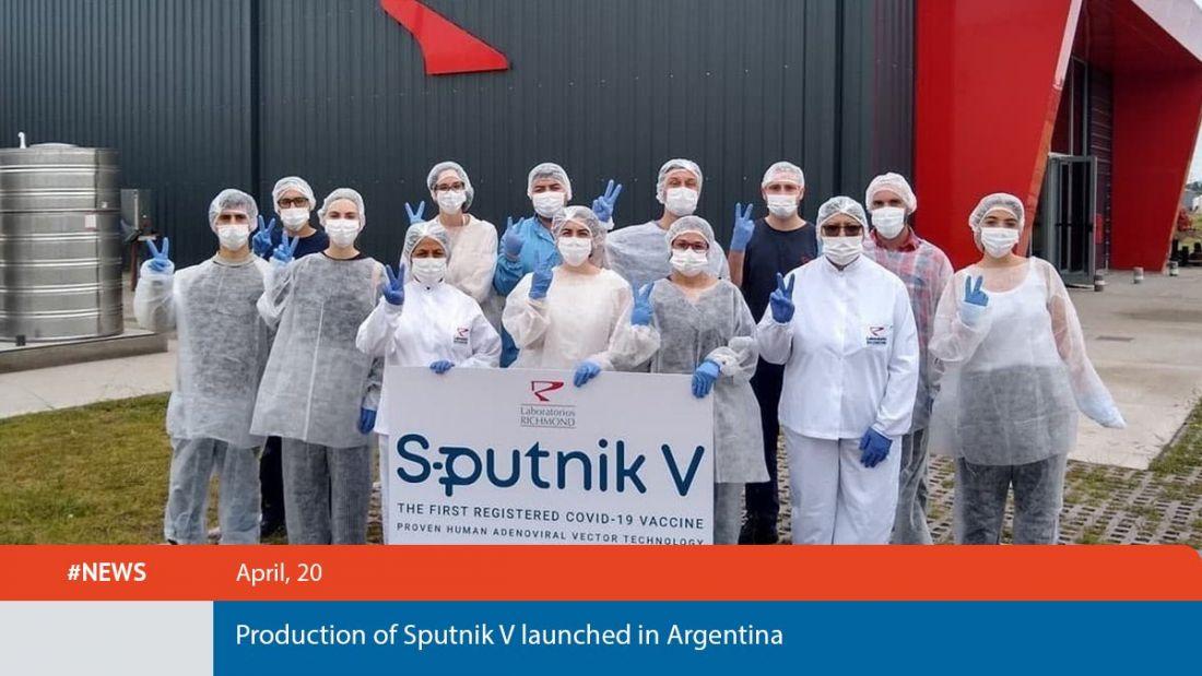 Argentina inicia producción de la vacuna Sputnik V contra el Covid-19