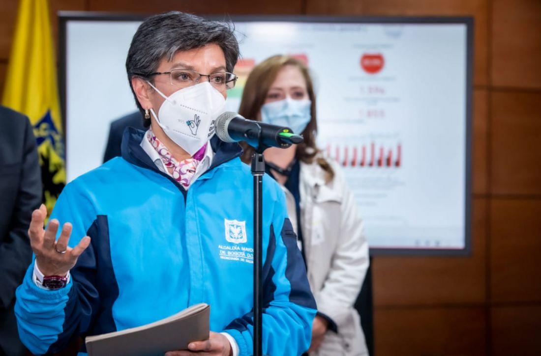 Bogotá se acerca al 90% de ocupación UCI y se esperan nuevas medidas