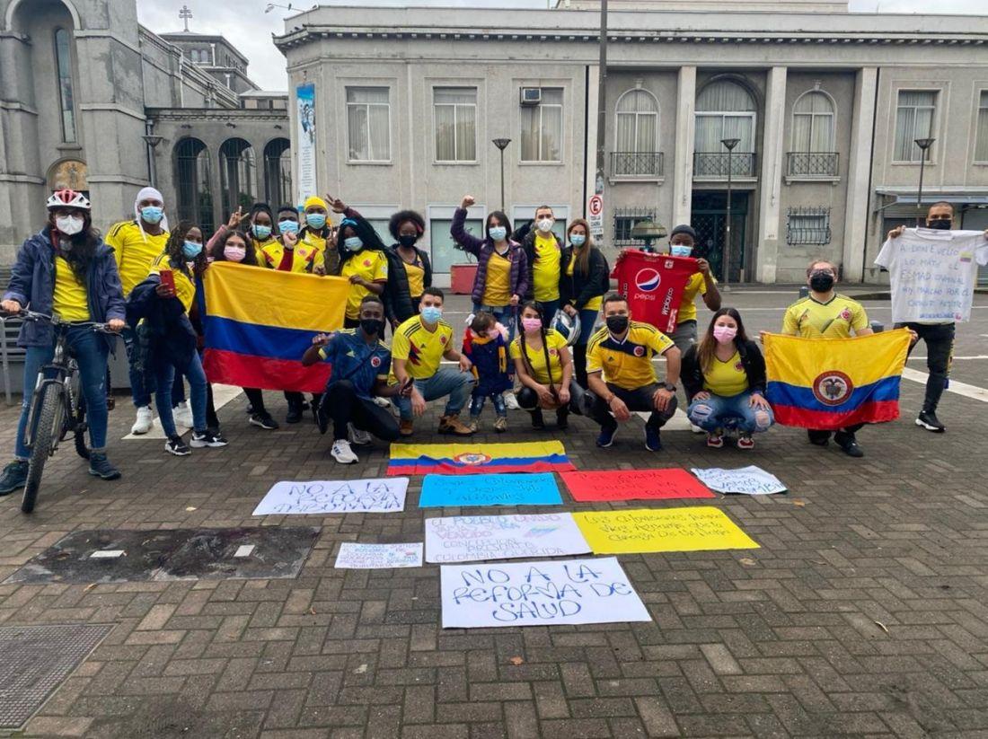 Colombianos en México, EE.UU., Australia y otros países se sumaron al Paro Nacional
