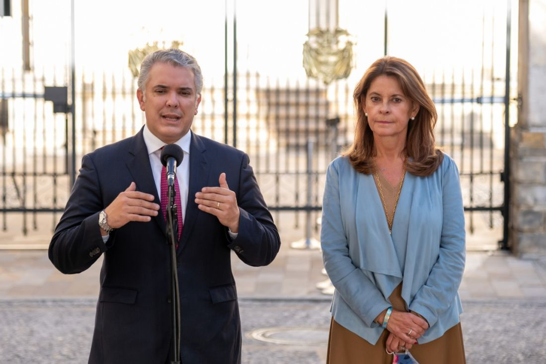 Por segunda vez, un vicepresidente asume un ministerio: Marta Lucía, canciller