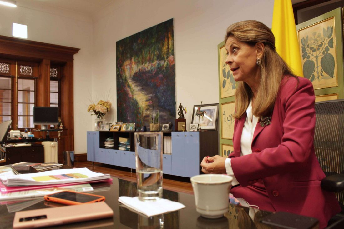 Marta Lucía Ramírez : Canciller con tenacidad política
