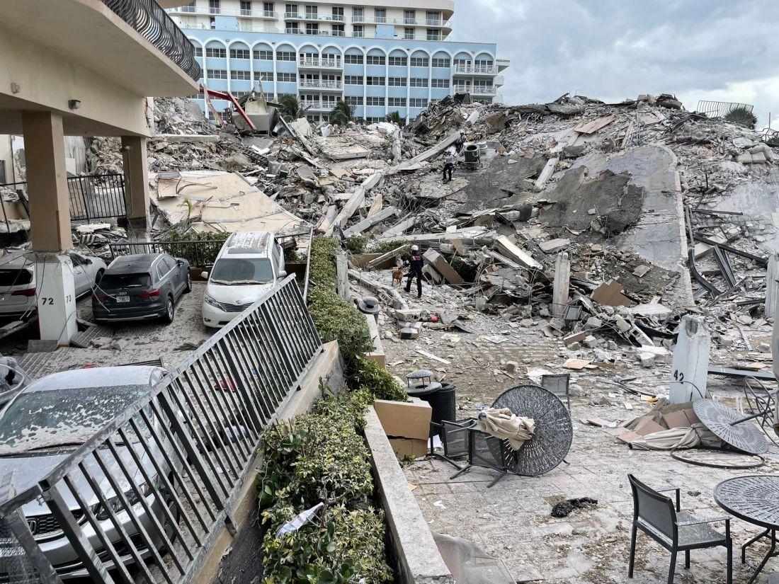 Ascienden a once los muertos confirmados por el derrumbe del edificio de Miami