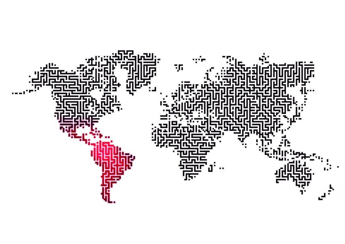 Latinoamérica en su laberinto