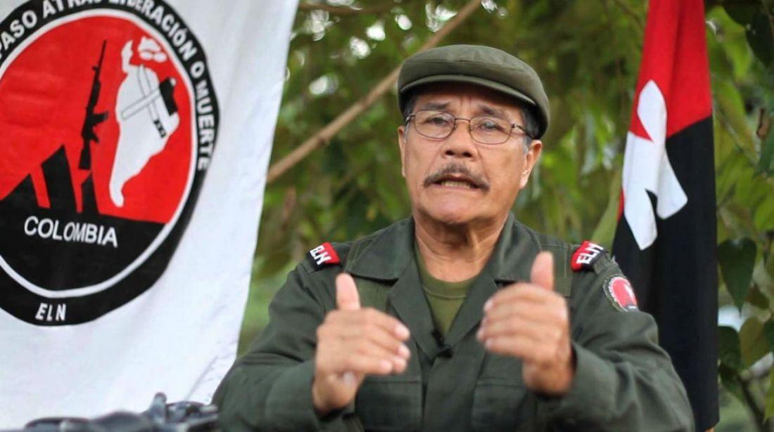 'Gabino', máximo jefe de la guerrilla del ELN renuncia por motivos de salud