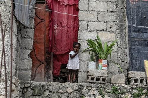 En los niños se refleja el drama de violencia y pobreza de Haití