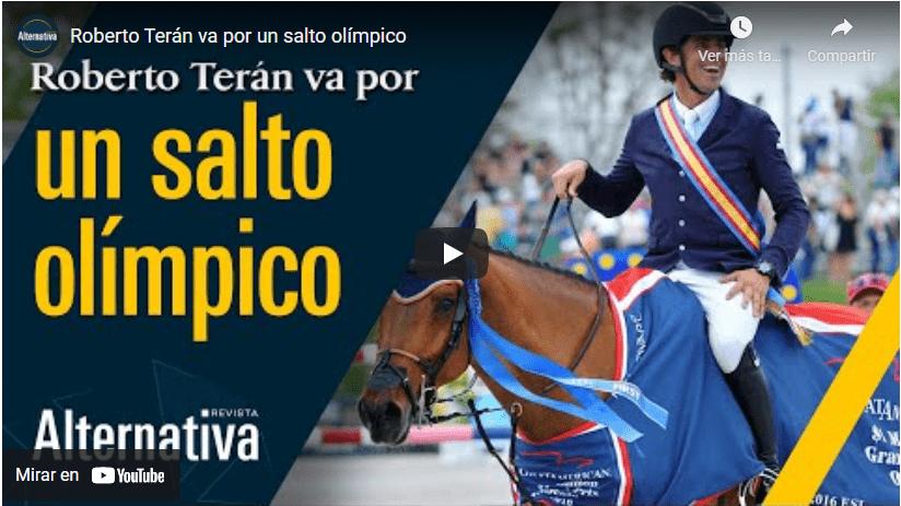 Roberto Terán va por un salto olímpico