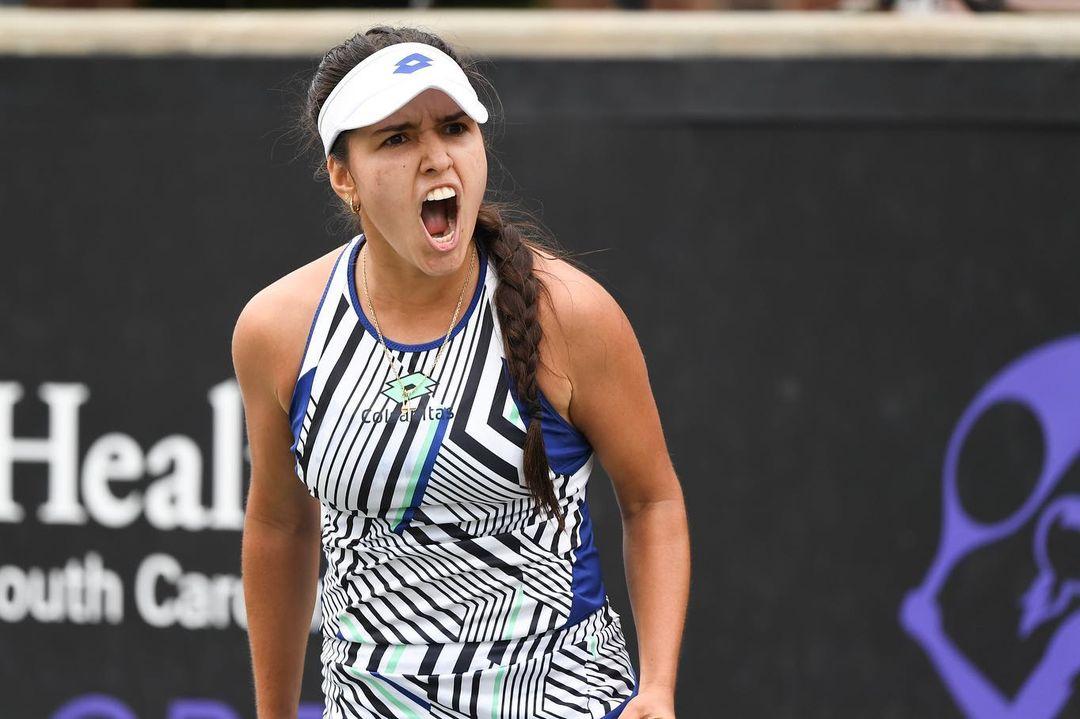 Debut con victoria para María Camila Osorio en el US Open