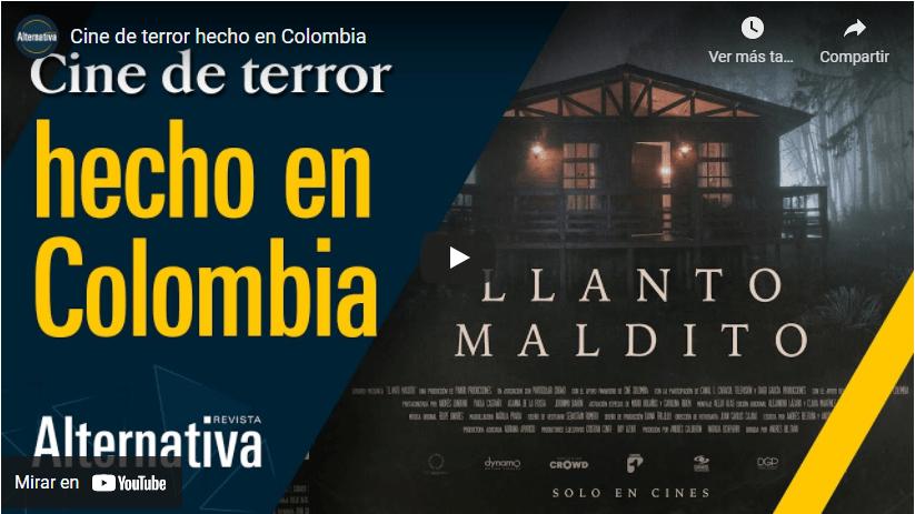 Cine de terror hecho en Colombia