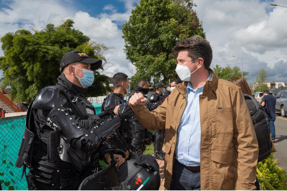 La lucha de Colombia contra los símbolos del mal