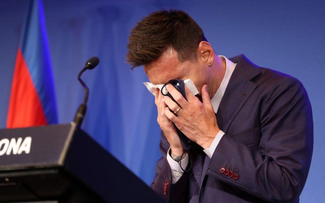 Messi, del Barcelona al PSG: las dos caras de la moneda