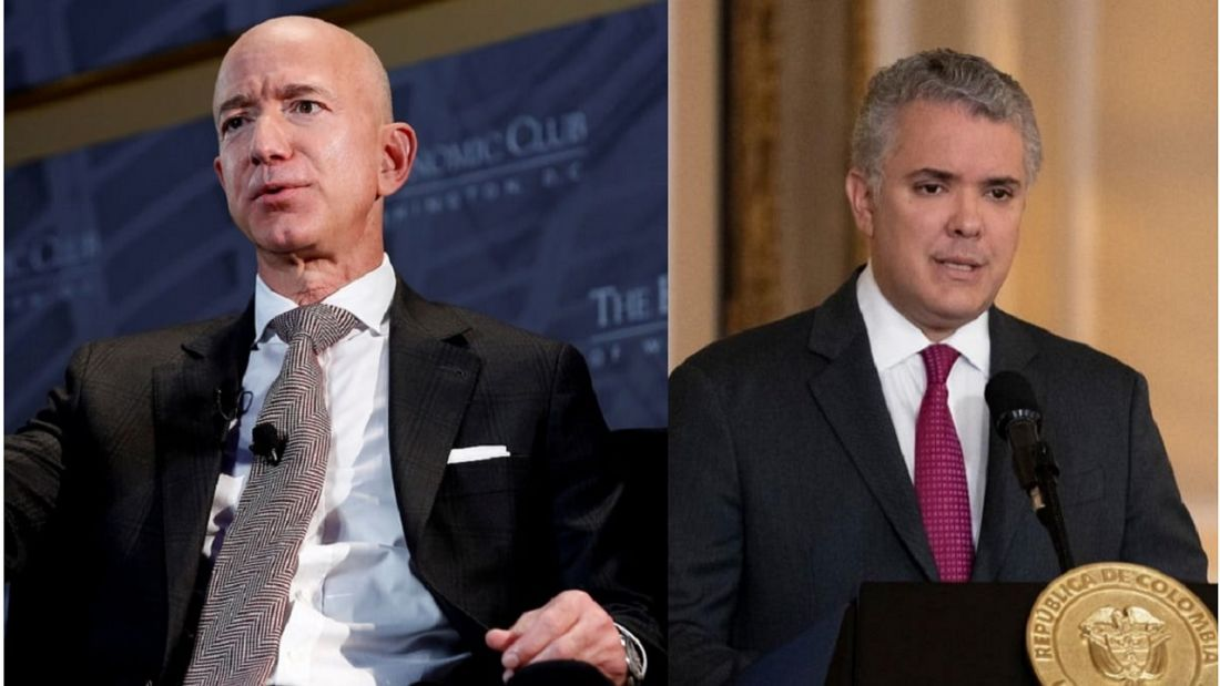 ¿De qué hablaron Iván Duque y el multimillonario Jeff Bezos?
