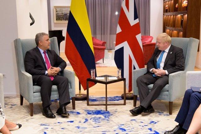 Cambio climático.- Duque y Johnson unen esfuerzos para afrontar la crisis climática y tratan un nuevo TLC