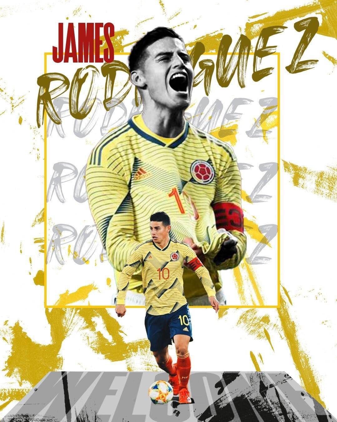 Oficial: James Rodríguez jugará en el fútbol de Catar