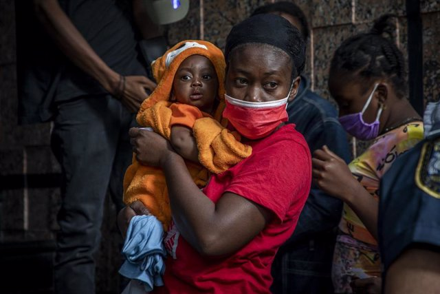UNICEF afirma que dos tercios de los expulsados a Haití por EEUU son mujeres y menores de edad