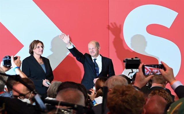 El SPD gana las elecciones federales de Alemania y la coalición CDU/CSU cae a mínimos históricos