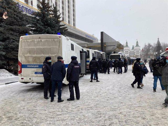 Rebajan a seis la cifra de muertos en un ataque perpetrado en una universidad de Rusia
