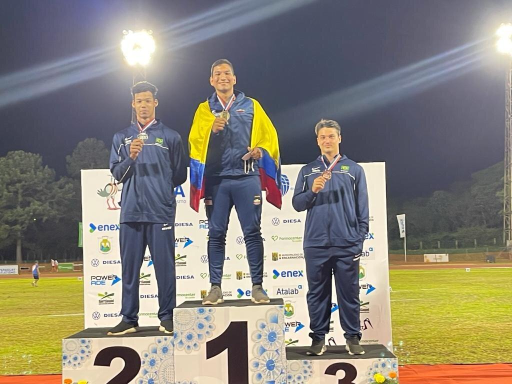 Colombia, subcampeona en el Sudamericano sub-18 de Atletismo