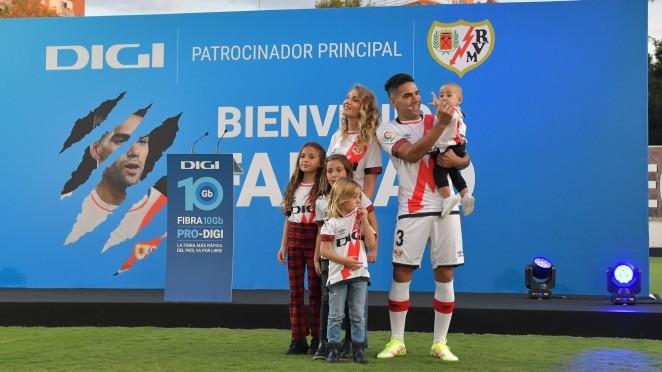 Falcao podría debutar este sábado con el Rayo Vallecano