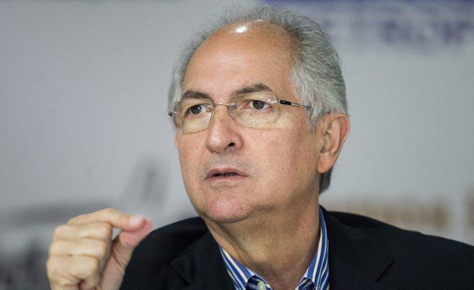 ¿Por qué el líder opositor Antonio Ledezma no cree en el diálogo con el régimen de Maduro en México?