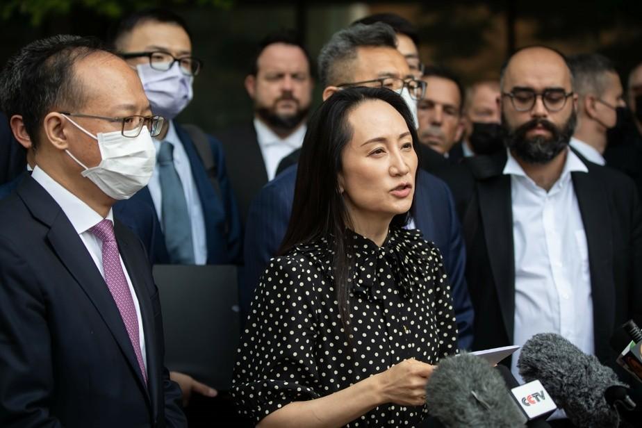 Fin a un conflicto de tres años: la heredera de Huawei, libre y en China