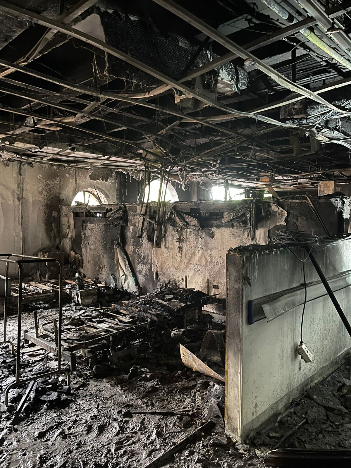 Una bebe fallecido y millonarias pérdidas deja incendio en hospital de Villavicencio